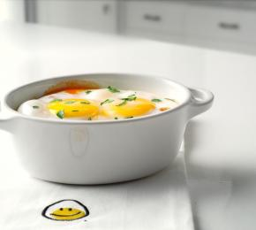 canadian baked eggs