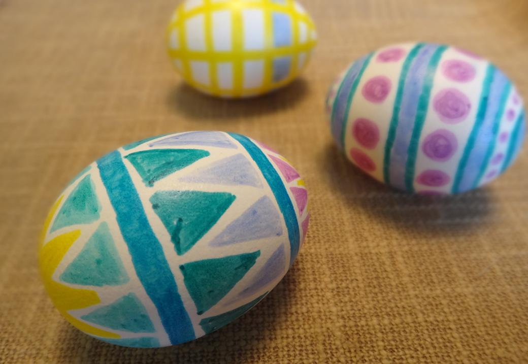 eggs 101 how to make magic marker easter eggs. Black Bedroom Furniture Sets. Home Design Ideas