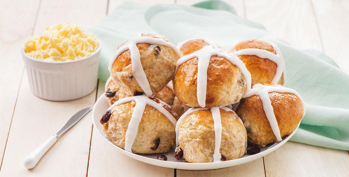 Hot cross buns Easter