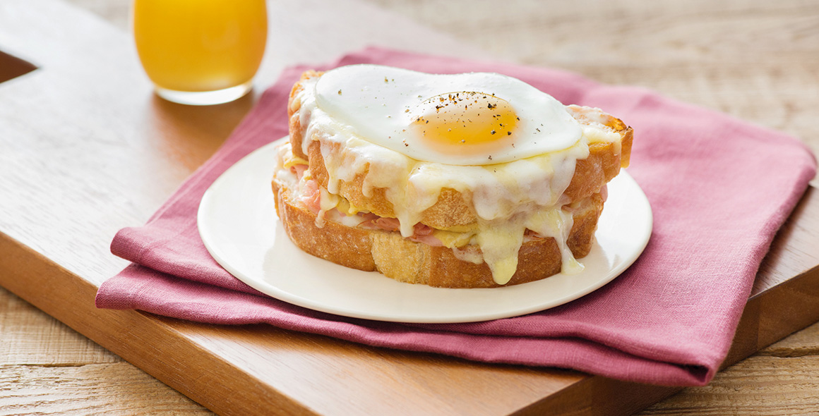may banner sandwiches croque madame