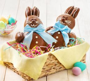 Chocolate Bunny Bread 022