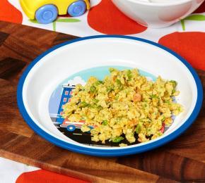 1. Egg and Veggie Scramble CMS