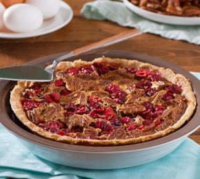 Cranberry Pecan Pie CMS