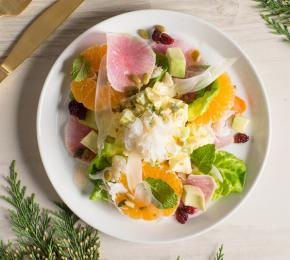 Dungeness Crab and Deviled Egg Salad CMS