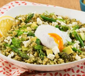 Freekeh Power Bowl with Dill Pesto CMS