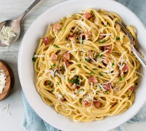 Linguine Carbonara CMS