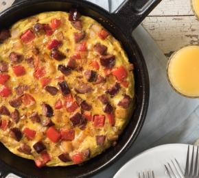 Potato + Chorizo Frittata 033