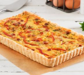 Potato and Chorizo Quiche CMS