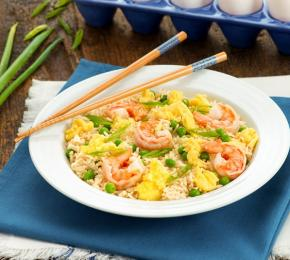 Shrimp and Egg Fried Rice CMS
