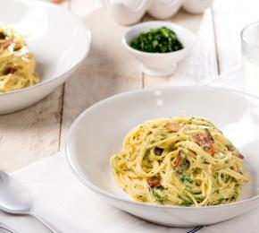 Spaghetti Carbonara CMS