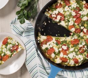 Spring Vegetable Frittata CMS