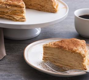 Tiramisu Crepe Cake CMS