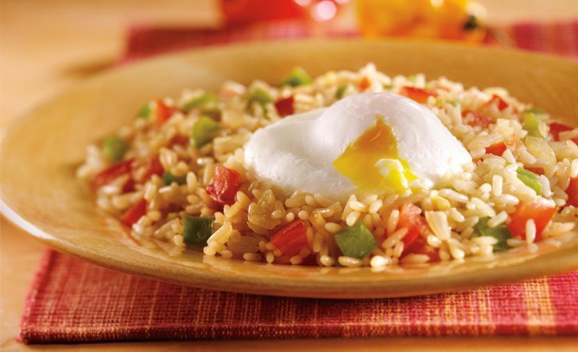 Recipes - Arroz con Huevos » Eggs.ca