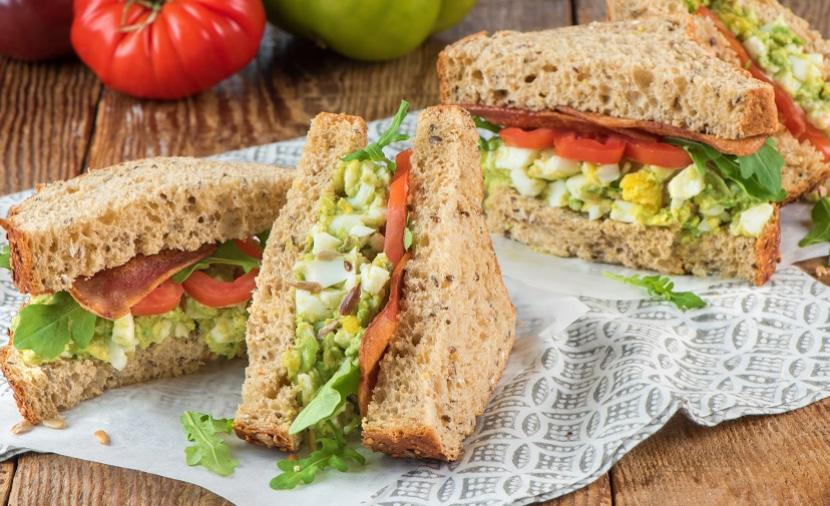 Recipes - Avocado Egg Salad Sandwiches » Eggs.ca