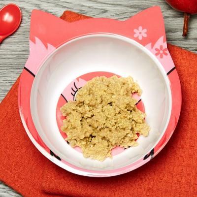4. Eggy Pear and Oatmeal Scramble CMS
