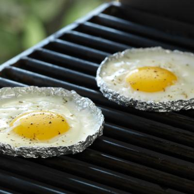 BBQ Fried Egg