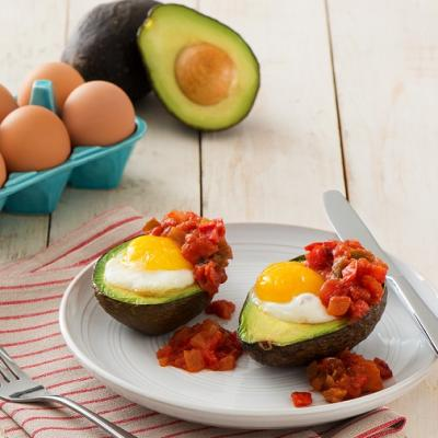 Baked Avocado Egg CMS