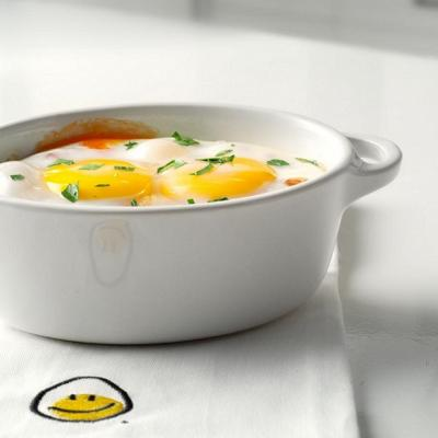 Canadian Farmhouse Baked Eggs