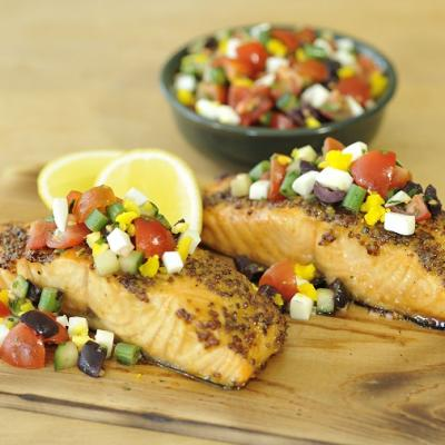 Cedar Plank Salmon CMS