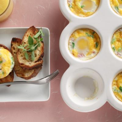 Easy baked Eggs 4