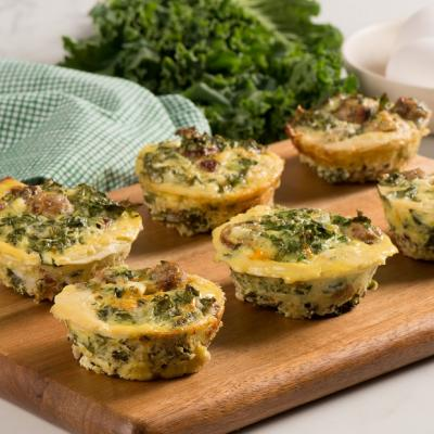 Kale and Sausage Frittata Cups CMS2