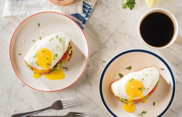 Avocado Toast with Eggs CMS