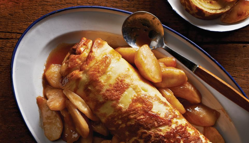 Finnish Oven Pancakes