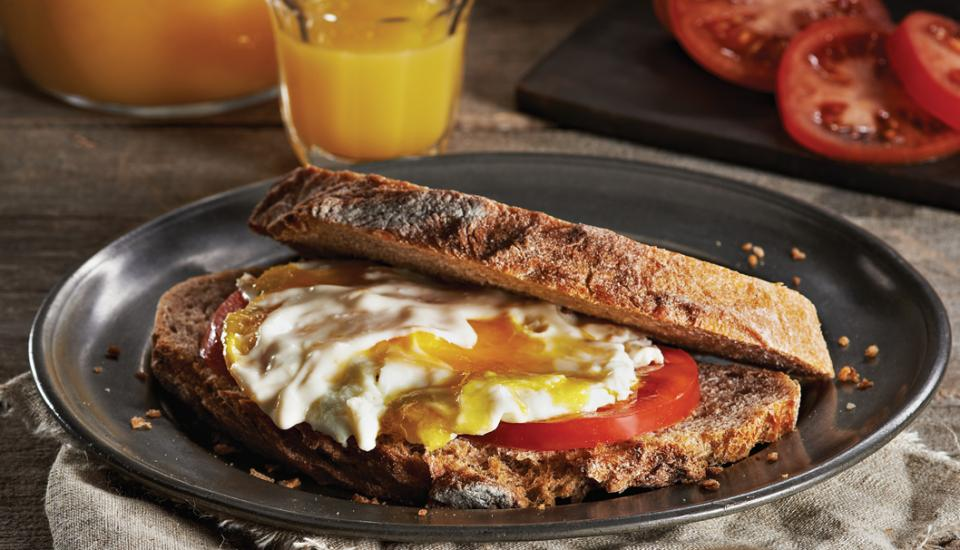 Sunrise Egg Sandwiches