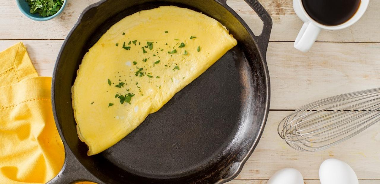 how to make a wet omelette