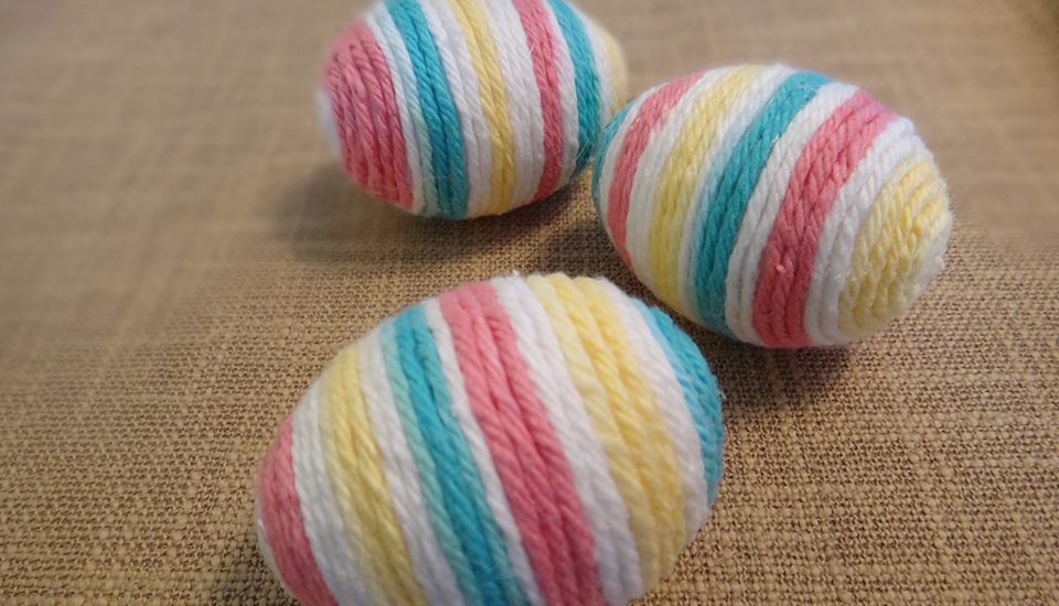 EFC Yarn Easter Egg