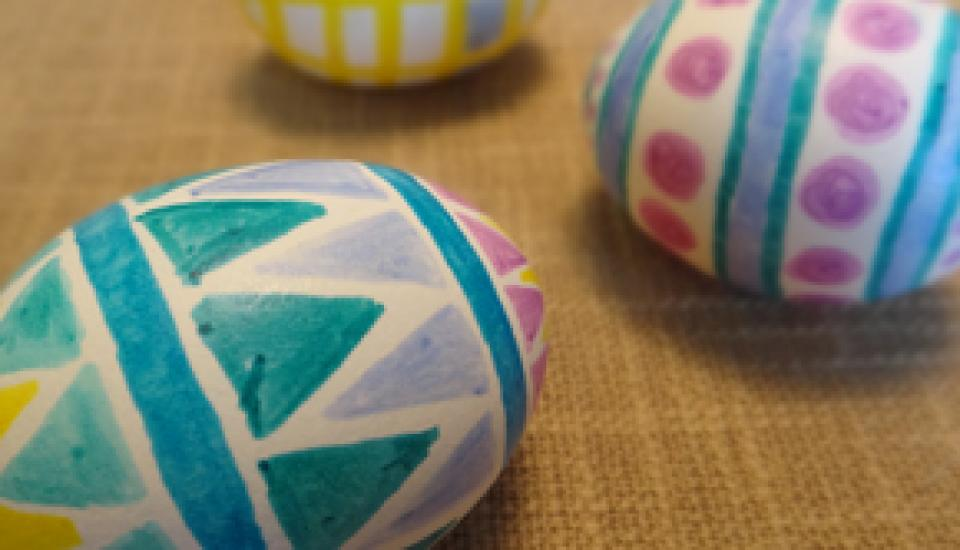 How To Make Magic Marker Easter Eggs Get Cracking