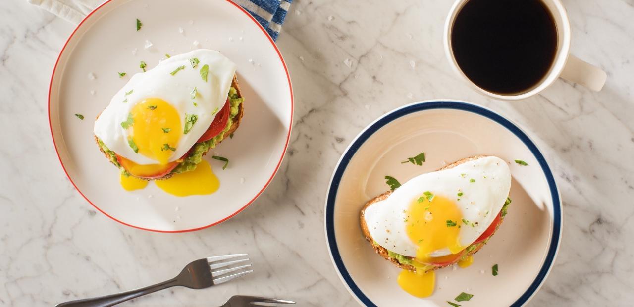 Avocado Toast with Eggs main