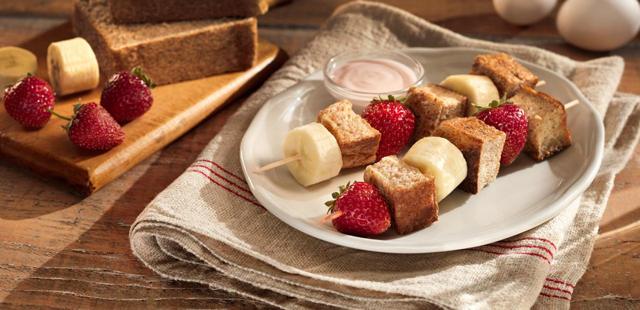 French Toast Kebabs 101