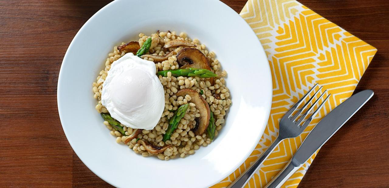 Mushroom and Barley