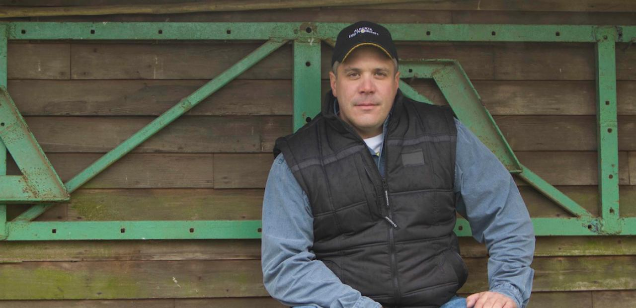 june banner farmer mike richter