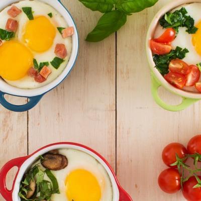 Baked Eggs 3 Ways CMS