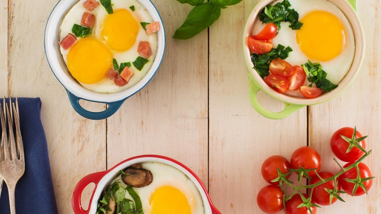 Baked Eggs 3 Ways CMS