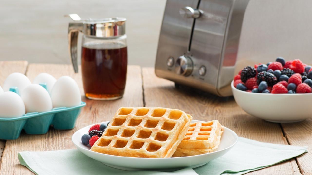 Make Ahead Buttermilk Toaster Waffles mainCMS