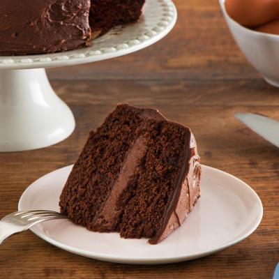 Classic Chocolate Layer Cake CMS