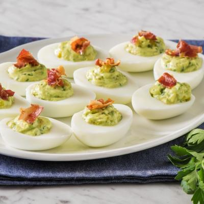 Green Goddess Devilled Eggs CMS