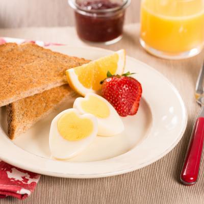 Heart Boiled Eggs 400