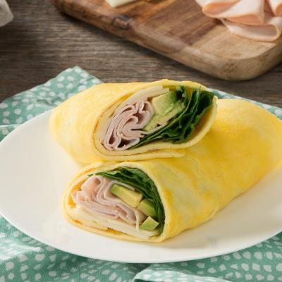 How to Make Eggs Wraps CMS