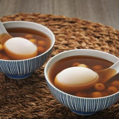 Light syrup with lotus seeds and boiled eggs CMS
