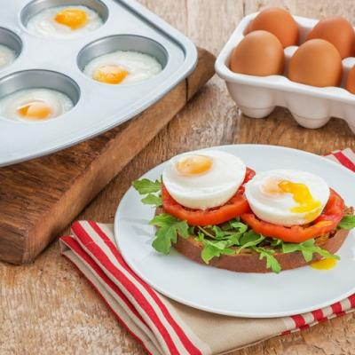 Muffin Pan Poached Eggs CMS