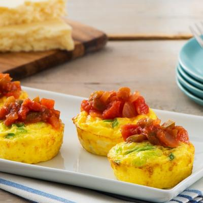 Muffin Tin Frittatas with Salsa CMS