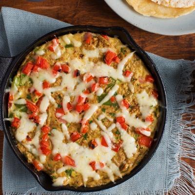 Southwestern Skillet Omelette CMS