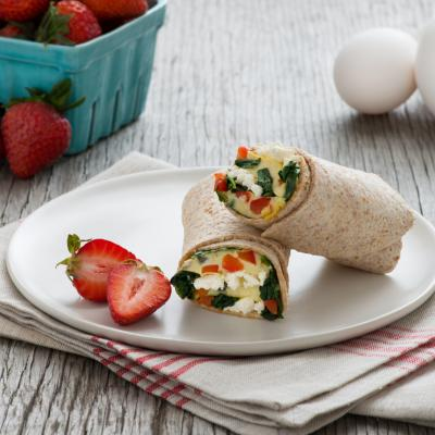 Spinach Feta Red Pepper Wrap 024