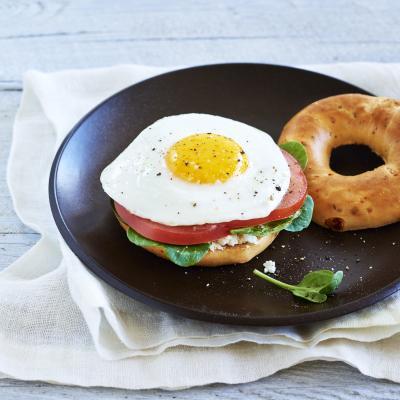 SundriedTomatoBagel EggSandwich V1
