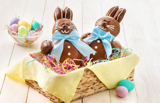 Chocolate Bunny Bread 022