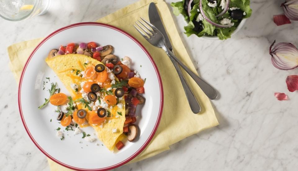PEI Homestyle Greek Omelette CMS